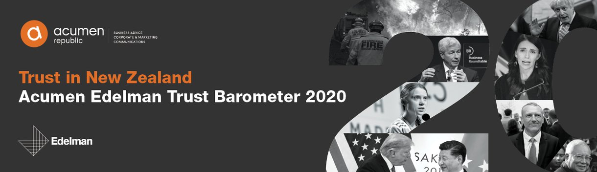 Trust Barometer banner