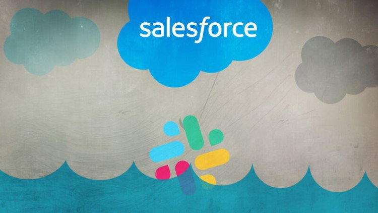 Animated image with salesforce written