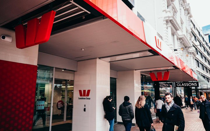 Photo of Westpac Lambton Quay store front