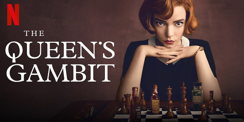 The queens gambit poster